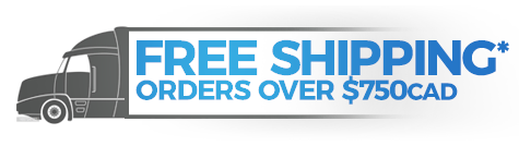 Free Shipping* Over $750 CAD