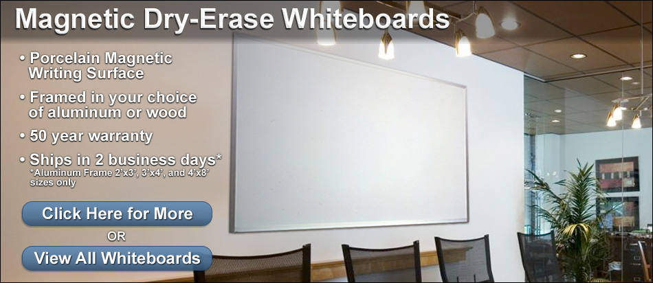 Magnetic Dry Erase Whiteboards